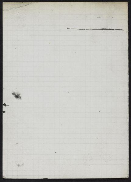 Pierre Vogein Blank card