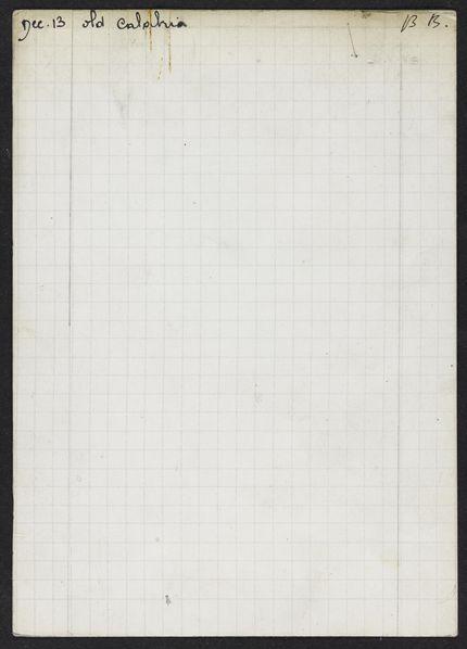 Mabel Schirmer 1926 card