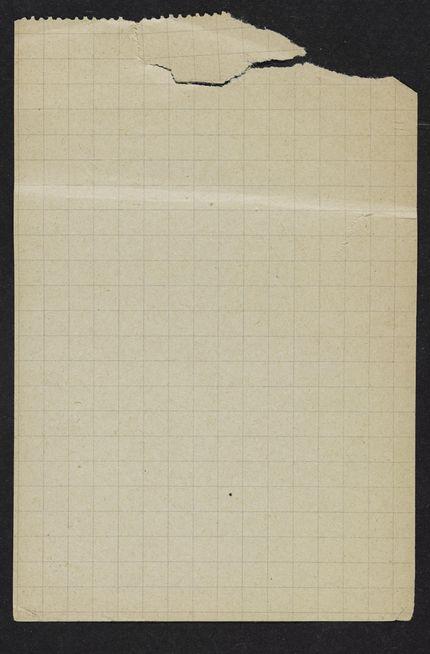 Richard Wright Blank card