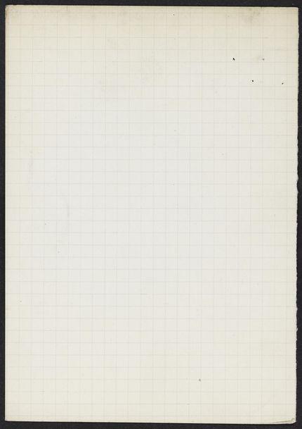 Cécile Sophie Blanche Maspero Blank card