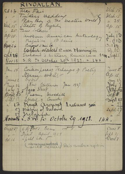 Anatole Rivoallan 1926 – 1928 card