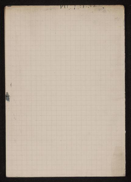 Mrs. Jackson Blank card