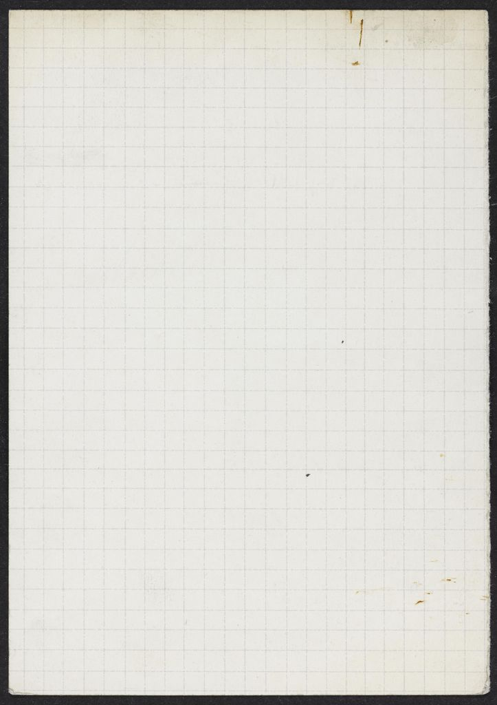 Adelaide W. Massey Blank card (large view)
