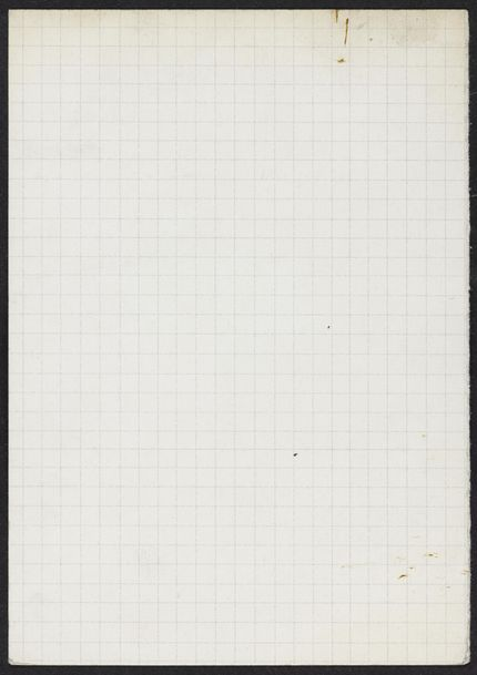 Adelaide W. Massey Blank card