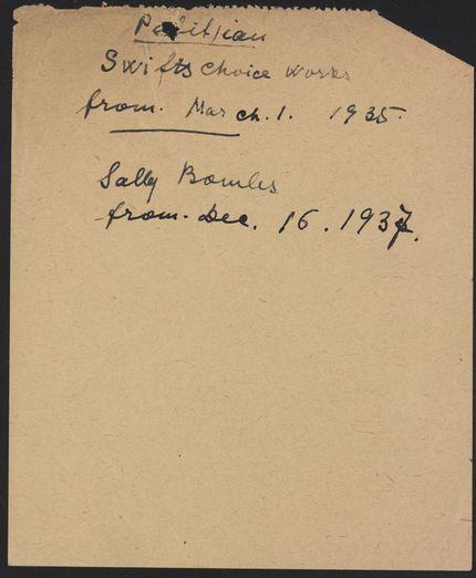 Roger Caillois 1935 – 1937 card