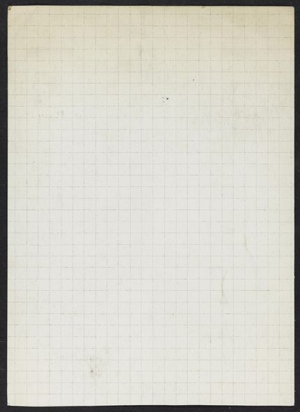 Jean Schlumberger Blank card
