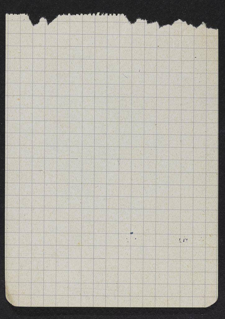 Stephen Spender Blank card (large view)