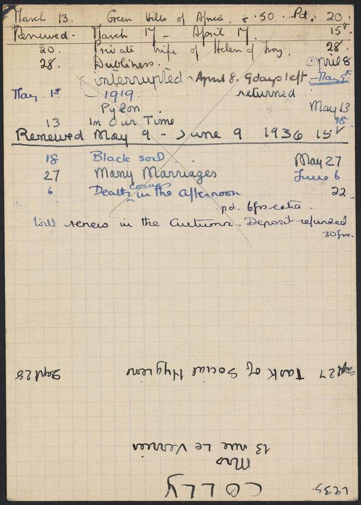 Léon Gischia 1936 card (large view)