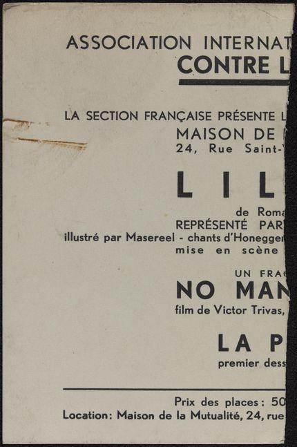 Mme Bidoire Blank card