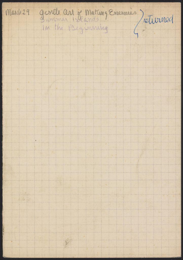 Pierre Leyris 1947 card (large view)