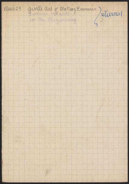 Pierre Leyris 1947 card