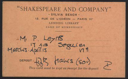 Pierre Leyris Blank card
